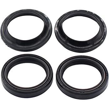 AHL Front Fork Shock Oil Seal and Dust Seal Set 37mm x 50mm x 11mm for Honda CBR600F CBR600 F 1987-1990