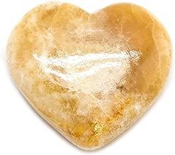 honey calcite crystal vault