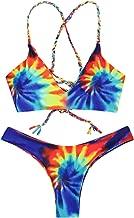 floral cross bikini