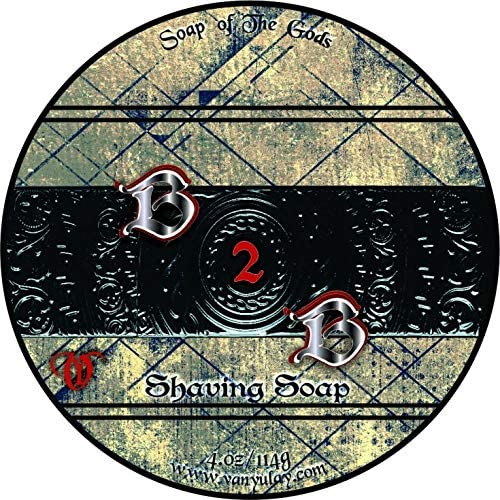 B2B Natural Moisturizing Shaving Soap oz with Butter Soldering San Francisco Mall 4.0 Cocoa