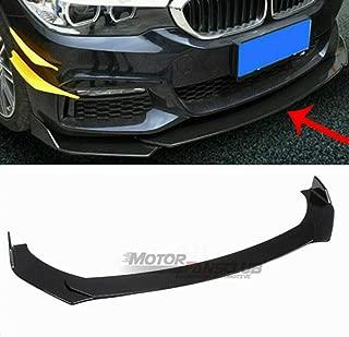 Universal Front Bumper Lip Splitter for Honda BMW Audi Protection Splitter Spoiler, Black
