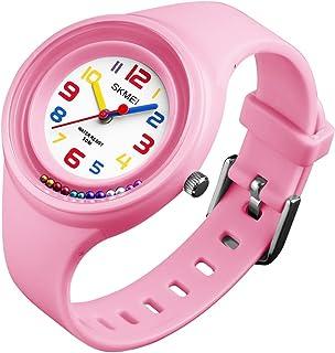 Girls Watches 50M Waterproof Fashion Creative Analog Quartz Wrist Watch for Kids Boys Children Gifts 1386
