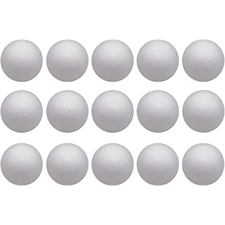 Acmer 12 Pack 3 Foam Balls with 1000 Stainless Steel Pins for Arts and Crafts Supplies