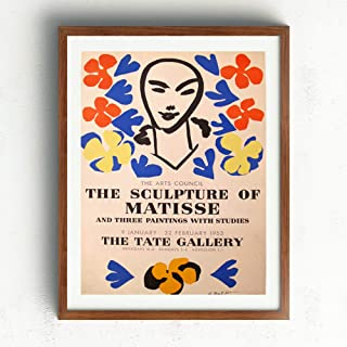 Vintage Posters Matisse (1953) Exhibition Print Artwork 78B - Professional Wall Art Merchandise - The Tate Gallery
