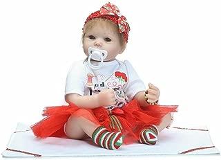 CYNPK 50CM Half Body Silicone Smiling Dolls Realistic Real Life Handmade Soft Dolls Childhood Companion Babysitting Training Model