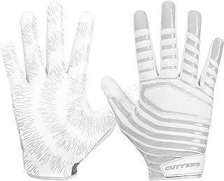 Cutters Football Glove, Best Grip Football Gloves, Lightweight & Flexible, Youth & Adult Sizes, 1 Pair