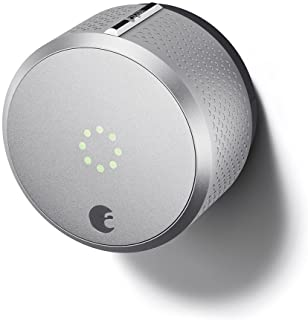 August Smart Lock, 2nd Generation, HomeKit enabled (Silver)