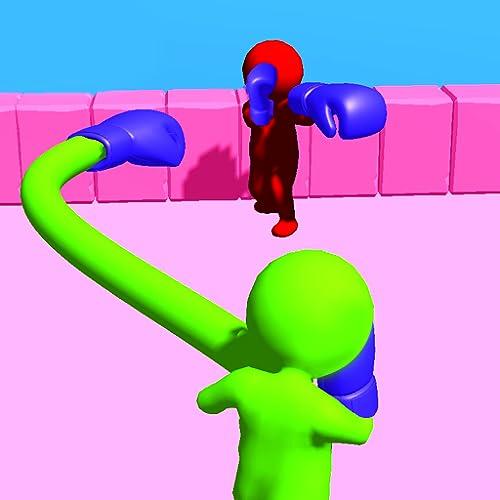 Curvy Stickman Rocket Punch