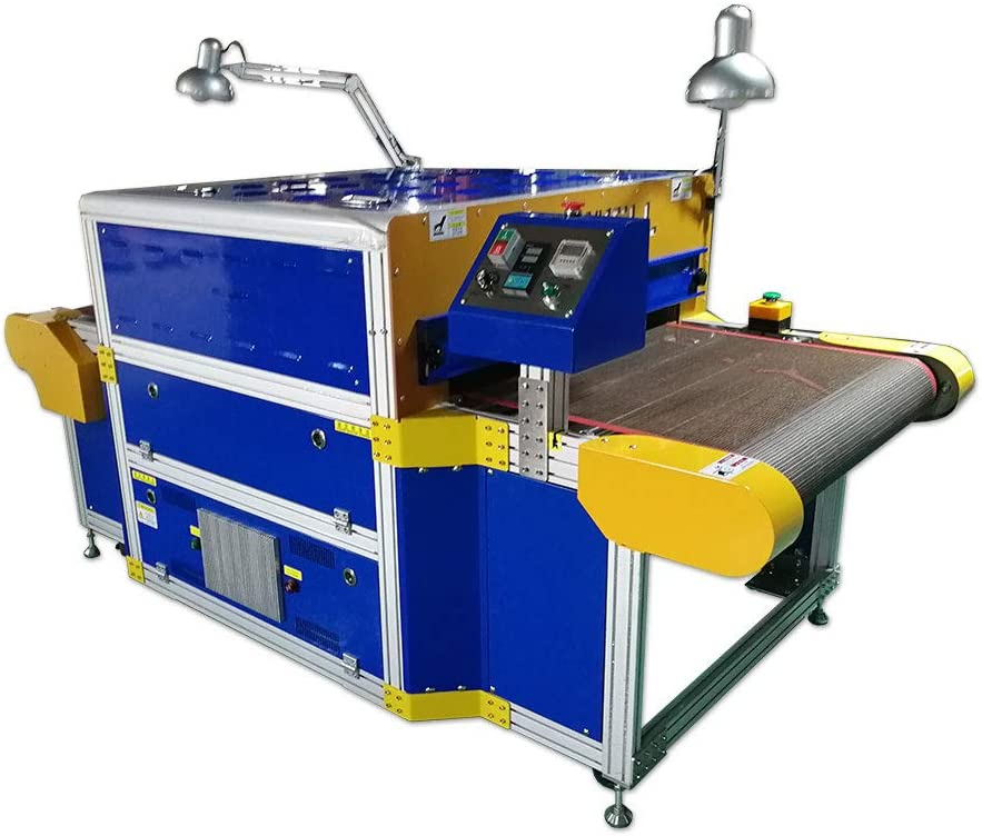 POVOKICI 220V 8000W Conveyor Tunnel Dryer 31.5