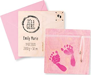 Rayher CK: Printing kit Baby, Pink, 10 pieces