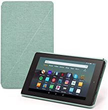 "Fire 7 Tablet (7"" display, 16 GB) - Black + Amazon Standing Case (Sage) + Screen Protector (Clear)"