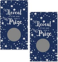 Paper Clever Party Navy Blue Star Scratch Off Game Cards (Pack of 28)