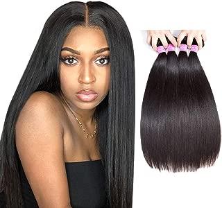 Original Queen 14 16 18 Inches Brazilian Straight Hair Bundles 8A Grade Unprocessed Human Hair Extension Mixed Lengths Natural Color