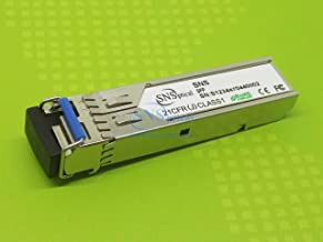 SnS ONS-SC-GE-ZX Compatible with Cisco ONS-SC-GE-ZX 1.06G/1.25G SFP 80km SMF Transceiver Module