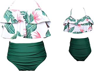 Matching Family Bathing Suits Mother Girl Bikini Swimsuit for Mom and Daughter Swimsuits