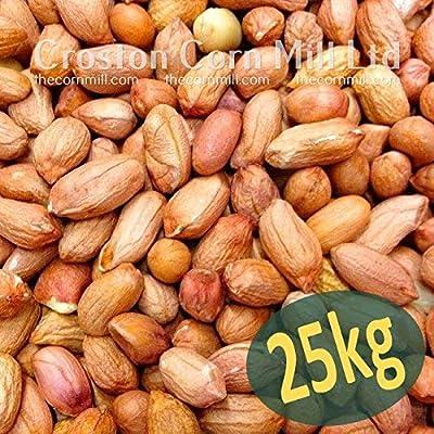 25kg *Wheatsheaf* Premium Grade Peanuts for Wild Birds Bulk Plain Bag from Croston Corn Mill