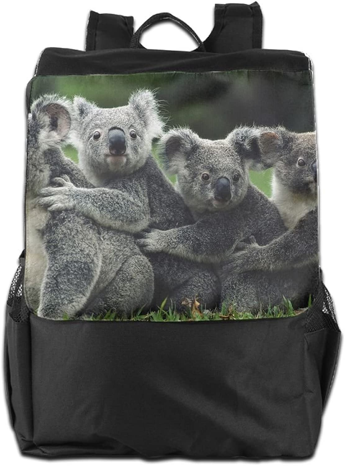 142d29b61bad Koalas Family Printed Backpack Lightweight Casual Bag Boys School ...