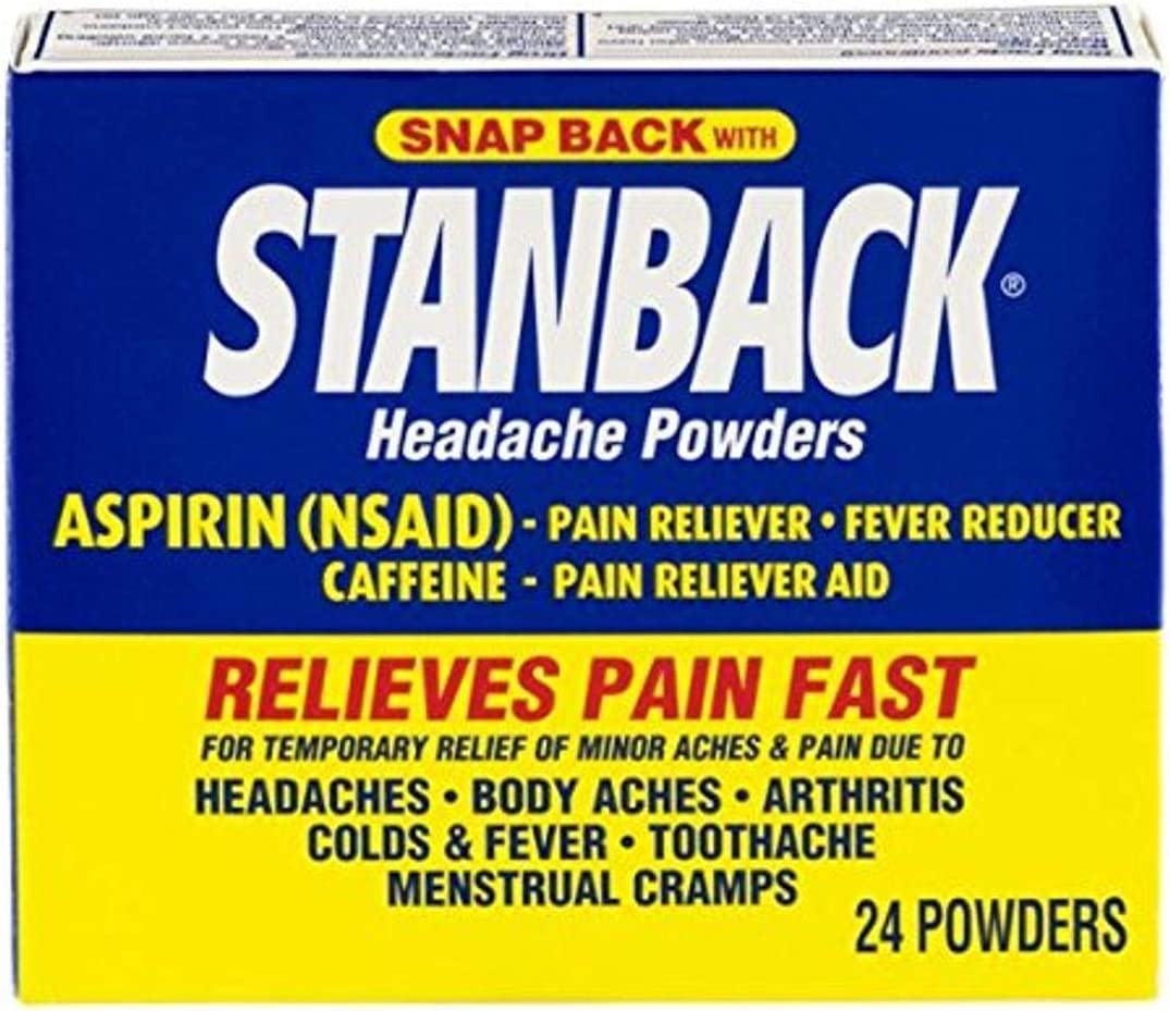 Stanback Headache Powders 24 Don't miss the campaign May Vary Count Packaging Max 81% OFF