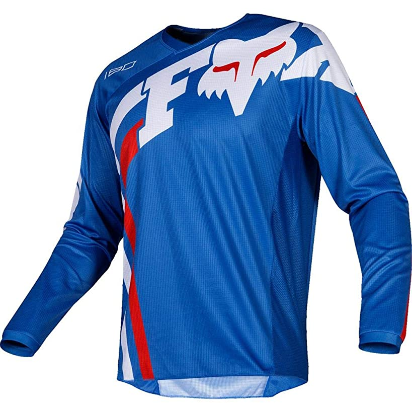 Fox Racing 2019 180 COTA Jersey-Blue-M