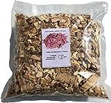 Brennholz Handel Warnecke Wood Chips Eiche Wood - 4 Liter Räucherchips für Grill und Smoker BBQ