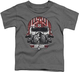 Top Gun Little Boys' Goose Helmet Childrens T-Shirt 4T Charcoal