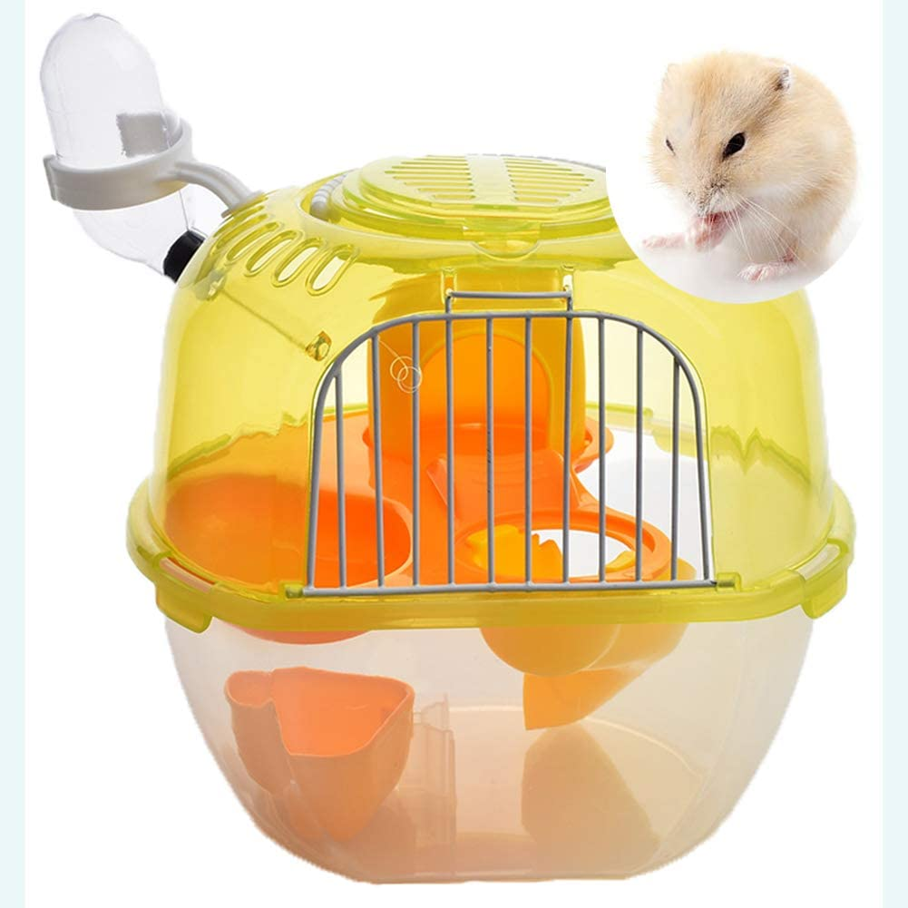 Shjjyp Small Animals Colorado Springs Mall Super special price Travelling Carrier Cage Hamster Portable Br