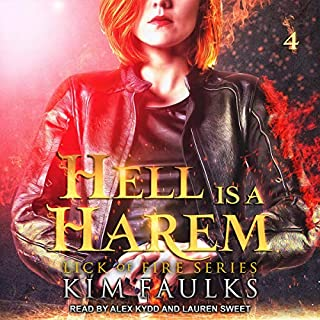 Hell Is a Harem, Book 4 audiobook cover art