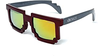 VENICE EYEWEAR OCCHIALI Gafas de sol Polarizadas para niño Pixel - protección 100% UV400 - Disponible en varios colores