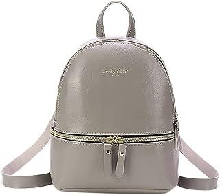 Kwok Women Fashion Lady Shoulders Small Backpack Letter Purse Mobile Phone Messenger Bag Crossbody Bag Shoulder Bag Leisure Bag