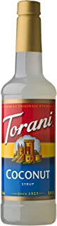 Torani Syrup, Coconut, 25.4 Ounces