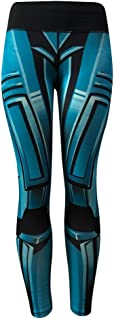 URIBAKE Fashion Women's Workout Leggings Print Breathable Fitness Sports Gym Running Yoga Athletic Pants