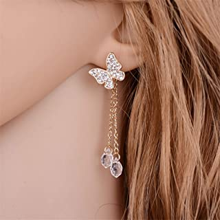 Acrylique Fleur Dangle Boucles d/'oreilles pétales Cristal Tassel Pendants d/'oreilles sweet Jewelry