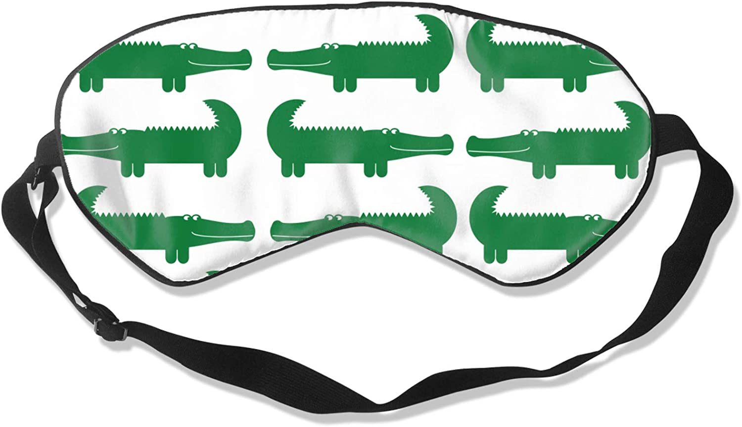 Eye Quantity limited Mask Cartoon Green Alligator Games Easy-to-use for Party Sleep Slee