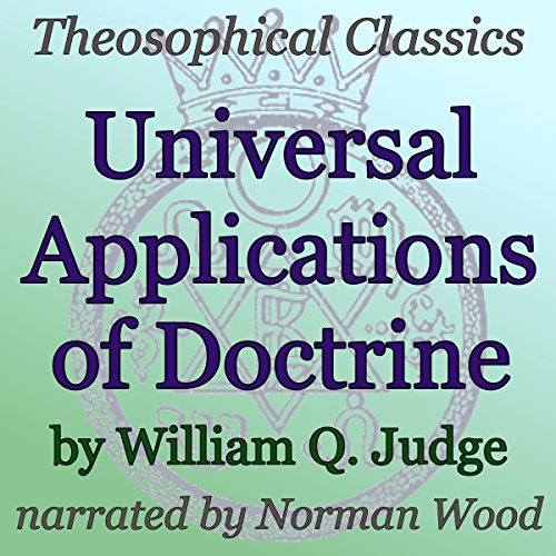 Universal Applications of Doctrine audiobook cover art