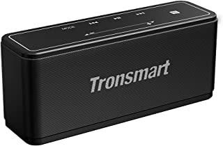 Portable Bluetooth Speakers, Tronsmart 40W Bluetooth 4.2 Wireless Speakers with 15-Hour Playtime, TWS, Dual-Driver Portable Wireless Speaker with Built-in Mic, NFC, Deep Bass, Led Backlight