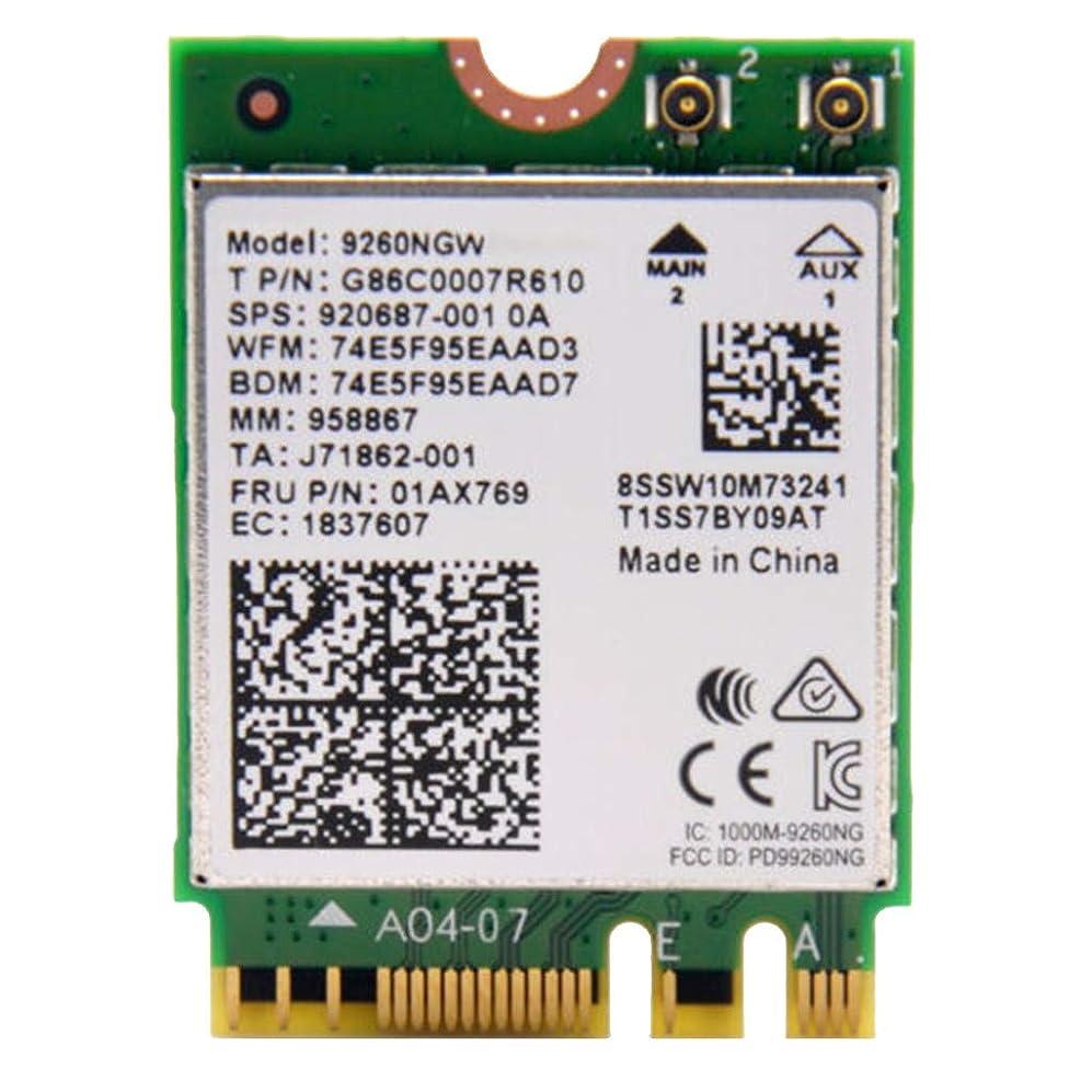 哲学博士階下添付PosmantDualバンド1.73GbpsワイヤレスAC(Intel 9260NGWカード用NGFF M2 Wifi Bluetooth 5.0ネットワークカード)M2付きノートブックNGFF WIFIスロットデスクトップMINIオールインワン使用可能