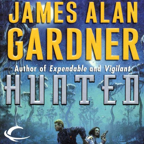 Hunted     League of Peoples, Book 4              By:                                                                                                                                 James Alan Gardner                               Narrated by:                                                                                                                                 Adam Henderson                      Length: 13 hrs and 47 mins     23 ratings     Overall 4.4