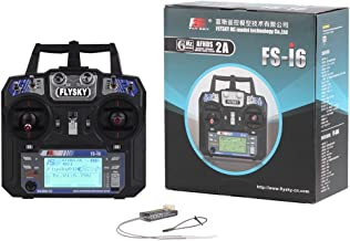RCmall Flysky FS-i6 2.4G 6CH RC Transmitter and Receiver FS-iA6 for Airplane UAV Multicopter Drone