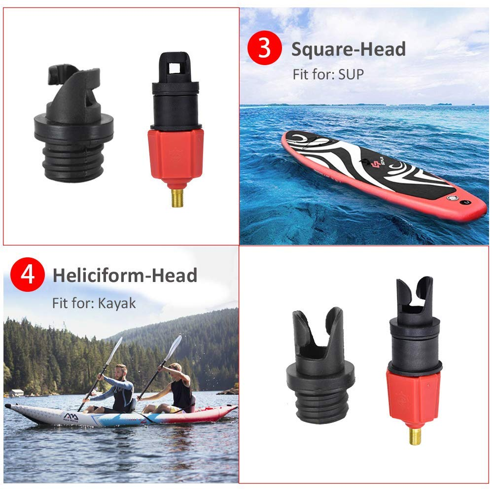 Air Valve Adaptor Attachment Parts Durable Hot Sale Boat 1PC Kayak Accessory YW