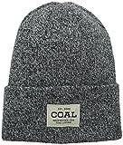 Coal Men's the Uniform Fine Knit Workwear Cuffed Beanie Hat, Olive Marl, One Size