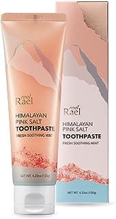 Rael Himalayan Pink Salt Toothpaste - Natural, Vegan, Paraben-Free, Anti-Cavity, Fresh Breath, Oral Care, Fresh Soothing Mint (4.23oz / 120g) by Rael