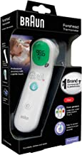 Braun Forehead Thermometer-DigitalThermometerwith Professional Accuracy and Color Coded Temperature Guidance -Thermo...