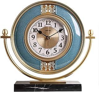 Pendulettes de bureau Bureau décoratifs Horloge de table Horloge bureau plateau Horloges Horloge de table Salon Démodé Hor...