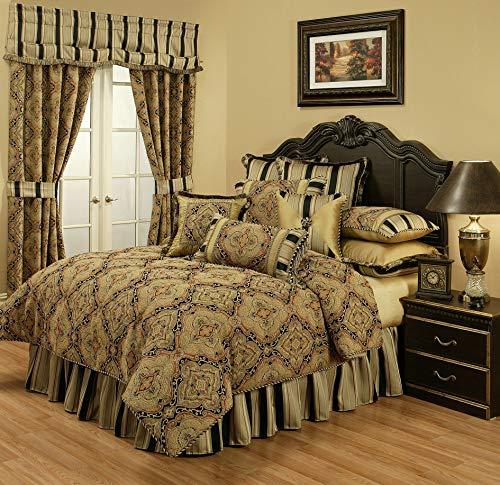 Best Price! Austin Horn Classics Ravel 3-Piece Luxury Comforter Set (Queen)