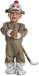 Infant Boys & Girls Sock Monkey Costume 12-18 Months
