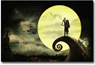 nightmare before christmas art gallery