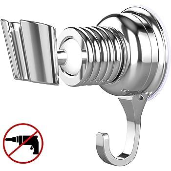 Geschenk EdelstahlHaken Verstellbar Duschhalterung Super Power Handbrause Halterung Ohne Bohren Brausehalter f/ür Handbrause oder Duschkopf F/ür Badezimmer