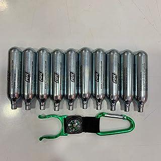 Lote de bombonas de CO2 para airsoft (12 g, 10 unidades)