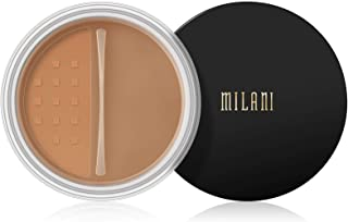 Milani Make It Last Setting Powder - Translucent Medium to Deep (0.12 Ounce) Cruelty-Free Mattifying Face Powder that Sets...
