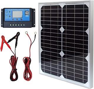 TP-solar Panel Kit 10W 20W 100W 12V Monocristalino con 10A